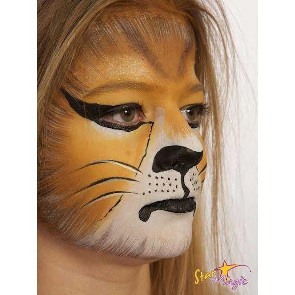 koop een leeuw schminken bij starmagic altijd de. Black Bedroom Furniture Sets. Home Design Ideas