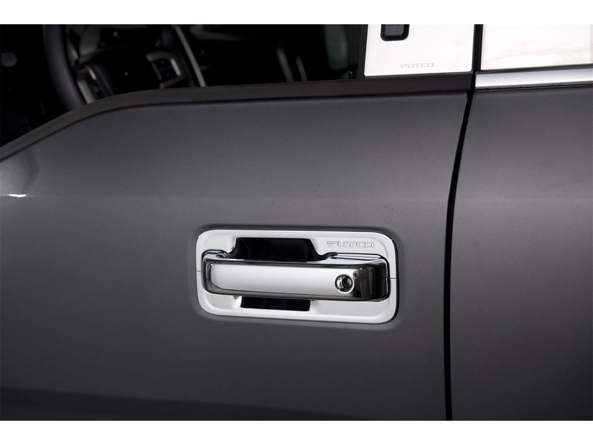Putco Chrome Door Handle Covers Chrome Door Handles Door Handles Truck Accessories
