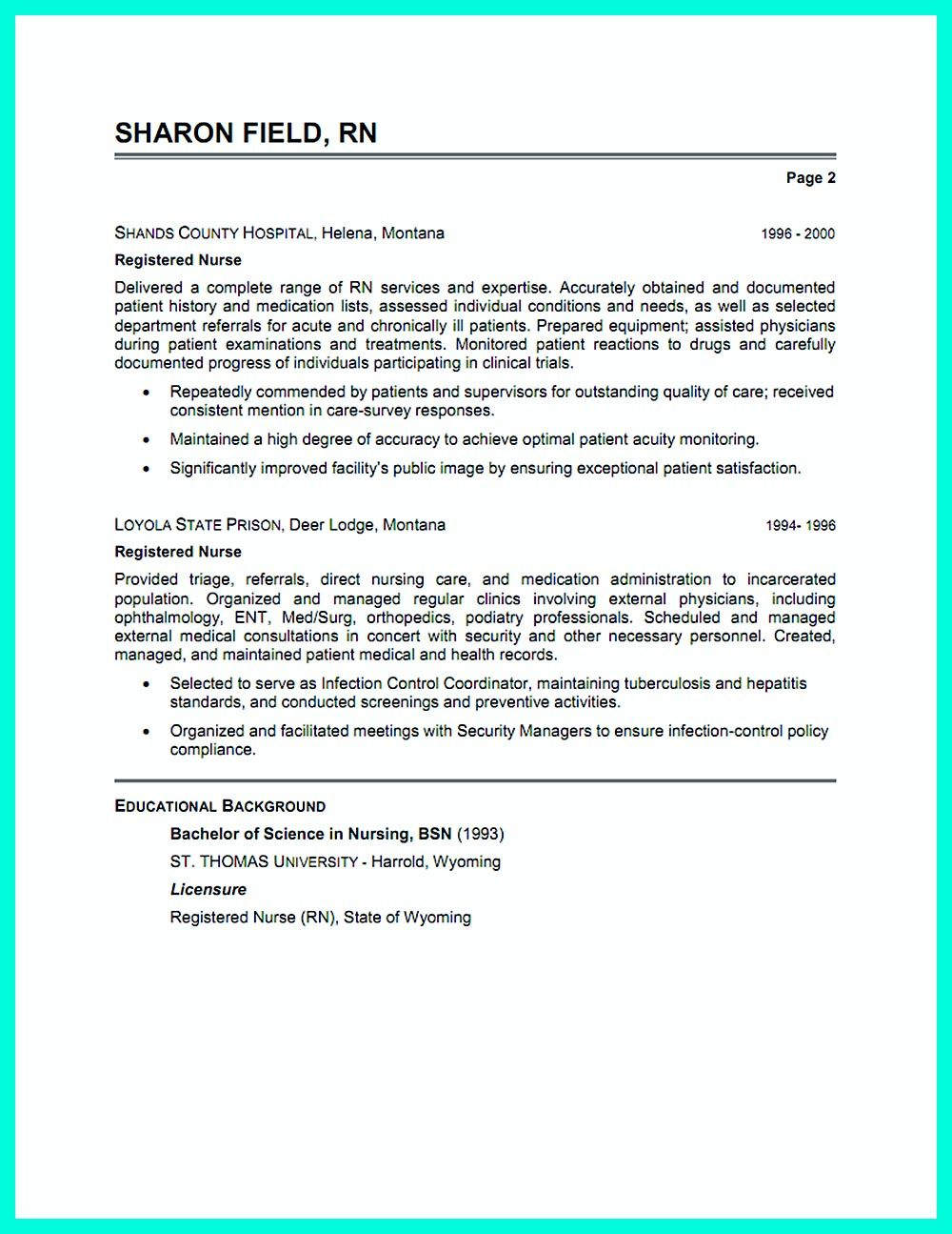 Pin On Resume Sample Template And Format Resumé Cover