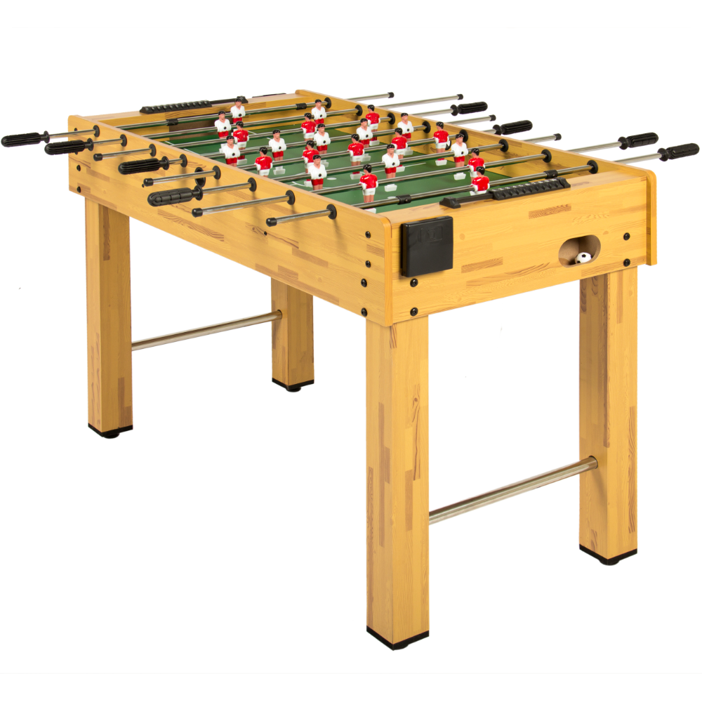 Best Choice Products 48in Competition Sized Wooden Soccer Foosball Table W 2 Balls 2 Cup Holders For Home Game Room Arcade Natural Walmart Com In 2020 Foosball Table Arcade Game Room Foosball