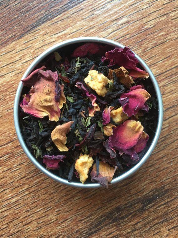 Aphrodite Tea Goddess Tea Loose Leaf Tea Custom Tea Blend
