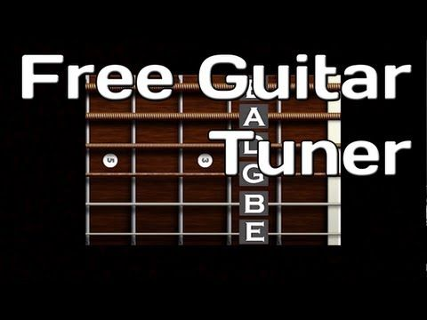 Enjoy This Free Online Guitar Tuner Video Presented By Yourguitarsage How To Tune Your Guitar In This Video To Guitar Tuners Learn Bass Guitar Guitar Tuning