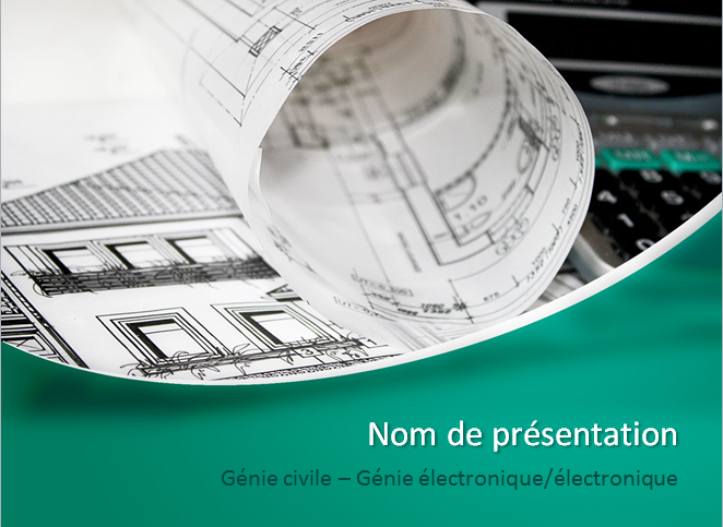 ppt  exemple de pr u00e9sentation powerpoint  genie civil     u00e9lectronique    u00e9lectrique