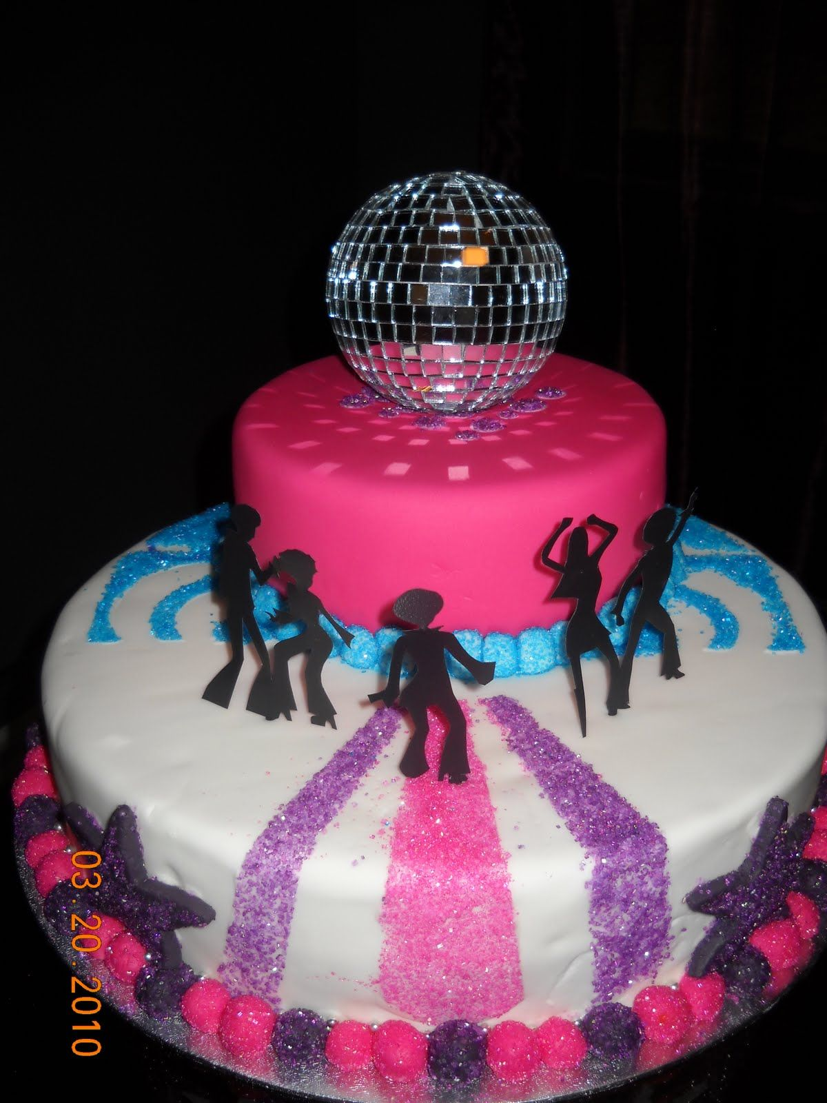 Disco Cake Idea Stay Strong Pinterest Disco Cake Cake And