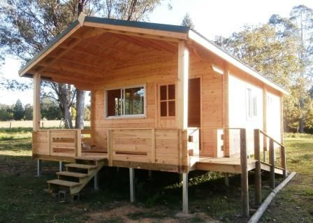 Cabin Life - Affordable Housing Deluxe Granny Flat - Do It Yourself 2014