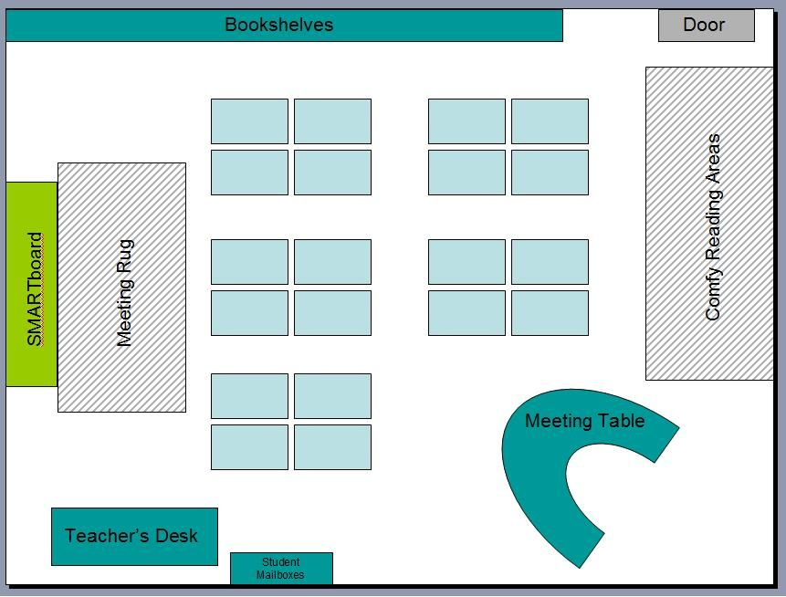 FREE Downloadable Basic Classroom Seating Chart Template