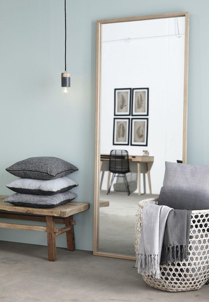 Farben Schlafzimmer Pinterest Oversized mirror, Interiors - farbe für schlafzimmer