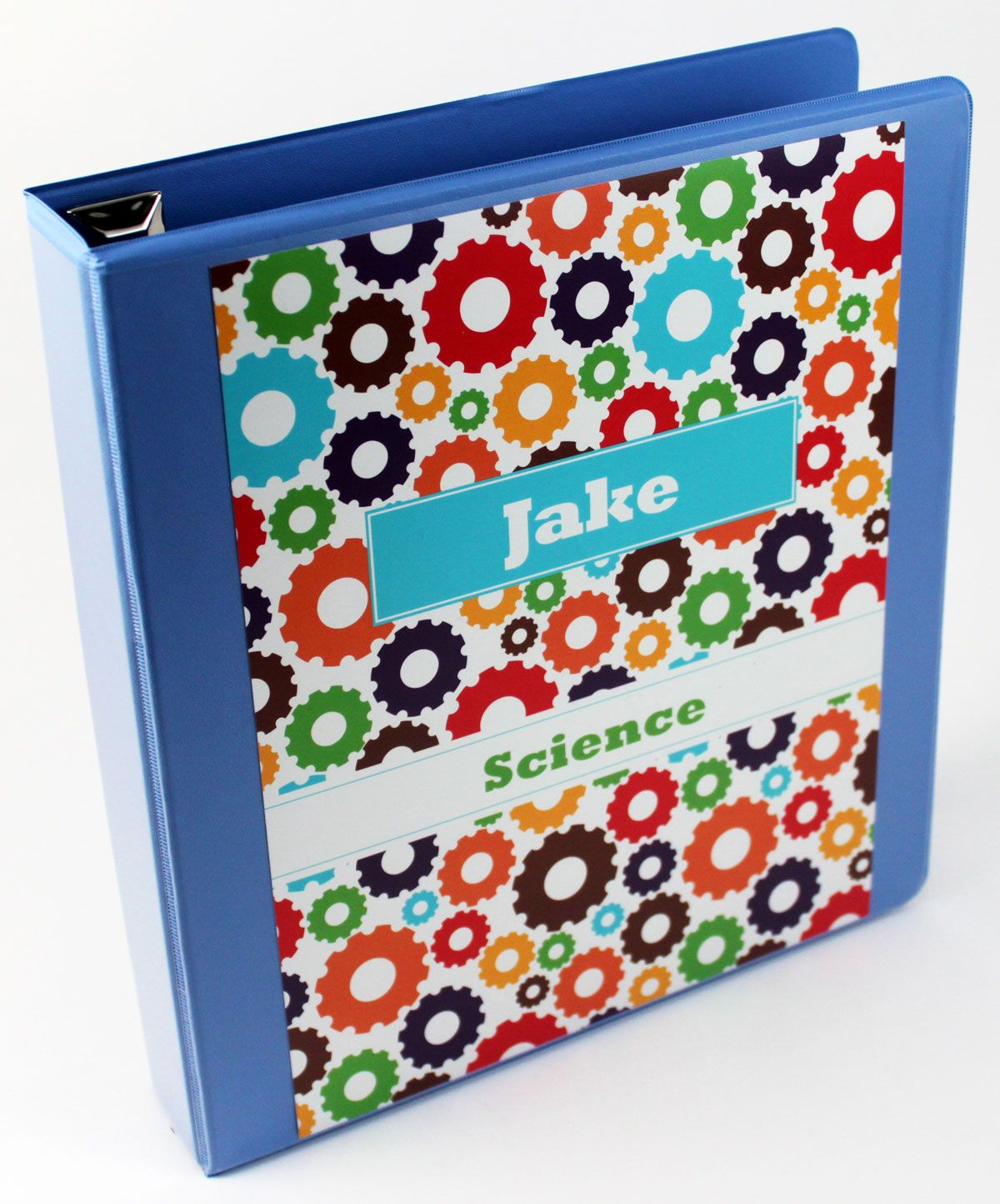 Colorful Gears Binder Insert Set