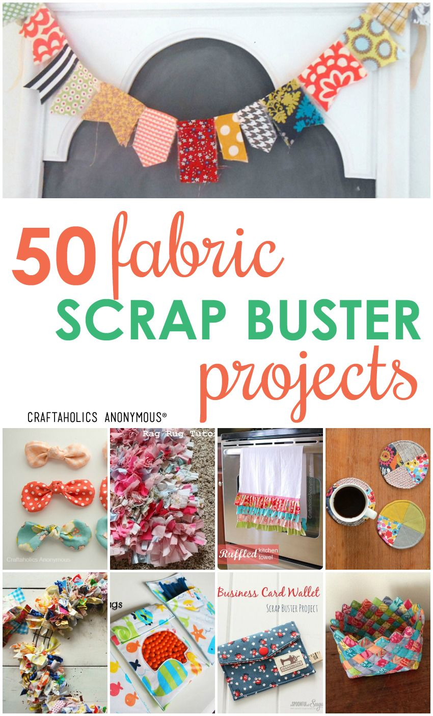 Fabric Scrap Projects