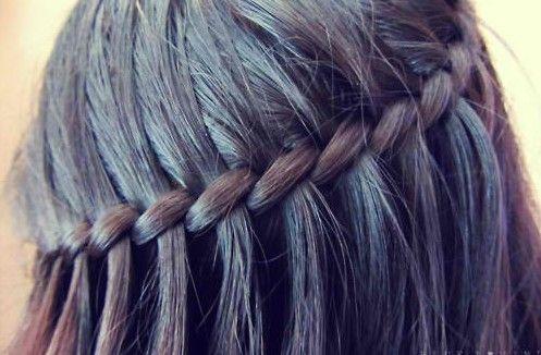 Waterfall Braid Hairstyles Weekly Hair Styles Waterfall Braid Hairstyle Braids For Black Hair