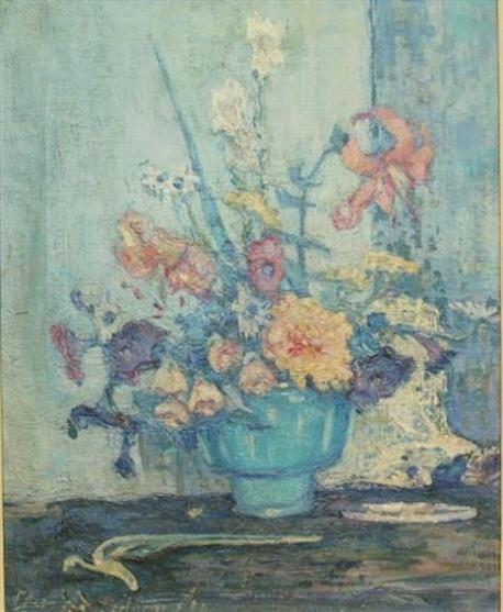 Clara D. Davidson, Garden Flowers