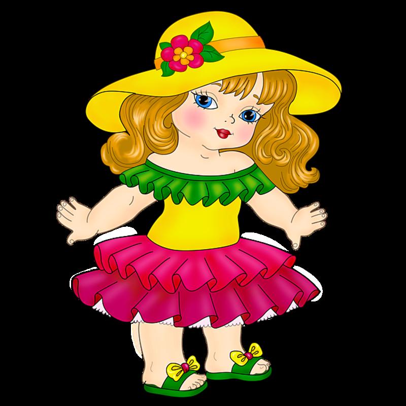 Картинки для детей куклы нарисованные