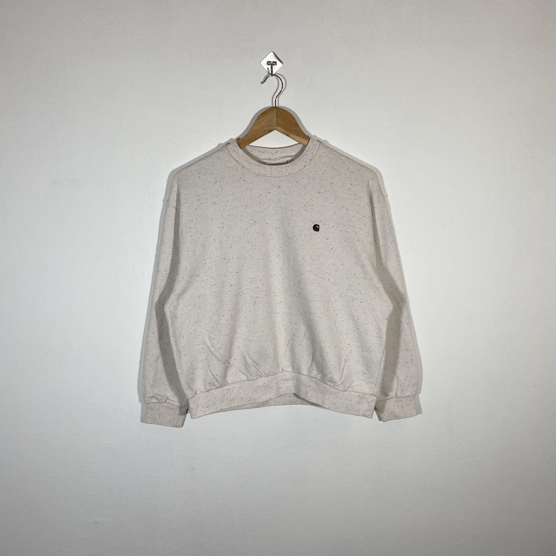 Vintage Carhartt Sweatshirt Crewneck Embroidery Logo Cream Etsy Carhartt Sweatshirts Vintage Nike Sweatshirt Tommy Hilfiger Sweatshirt [ 3000 x 3000 Pixel ]