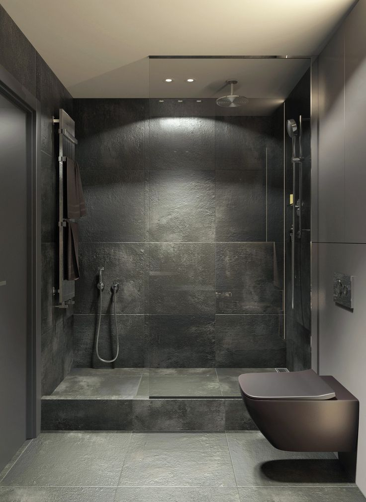 COCOON grey bathroom | bathroom design inspiration | high end stainless steel ba... #greykitchendesigns
