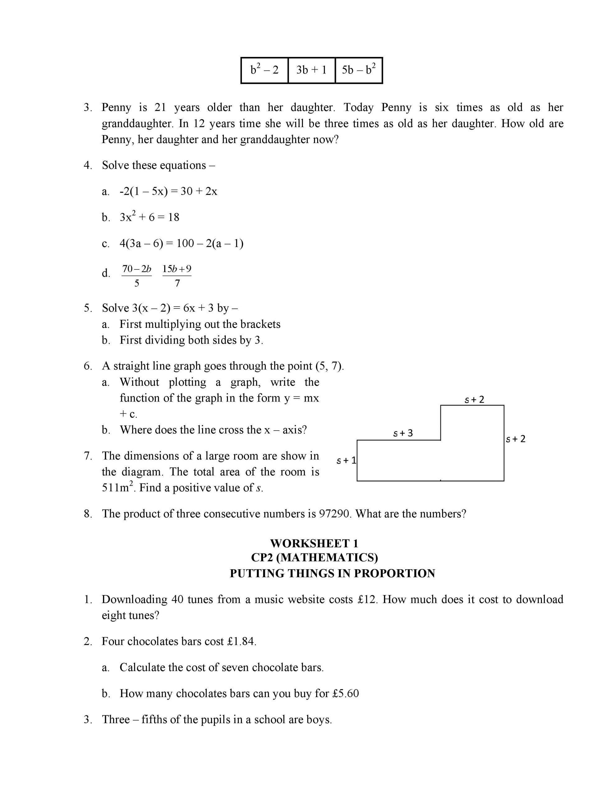 Math Worksheets Grade 5 Decimals