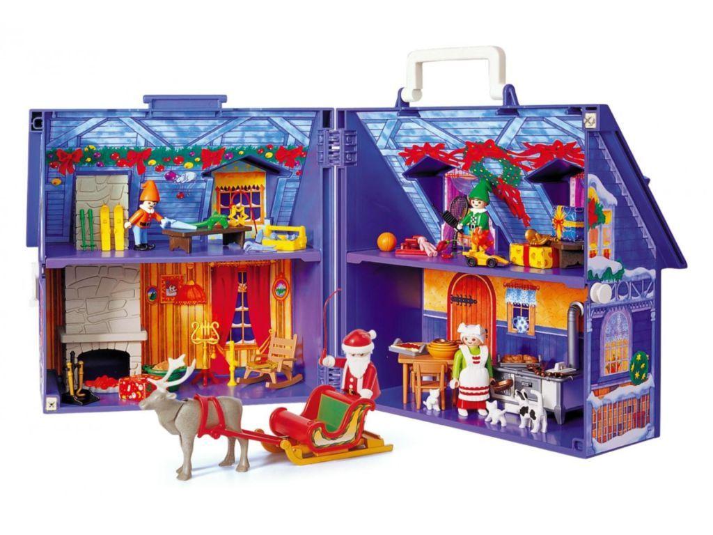 playmobil set 3517s2 maison du papa noel klickypedia. Black Bedroom Furniture Sets. Home Design Ideas