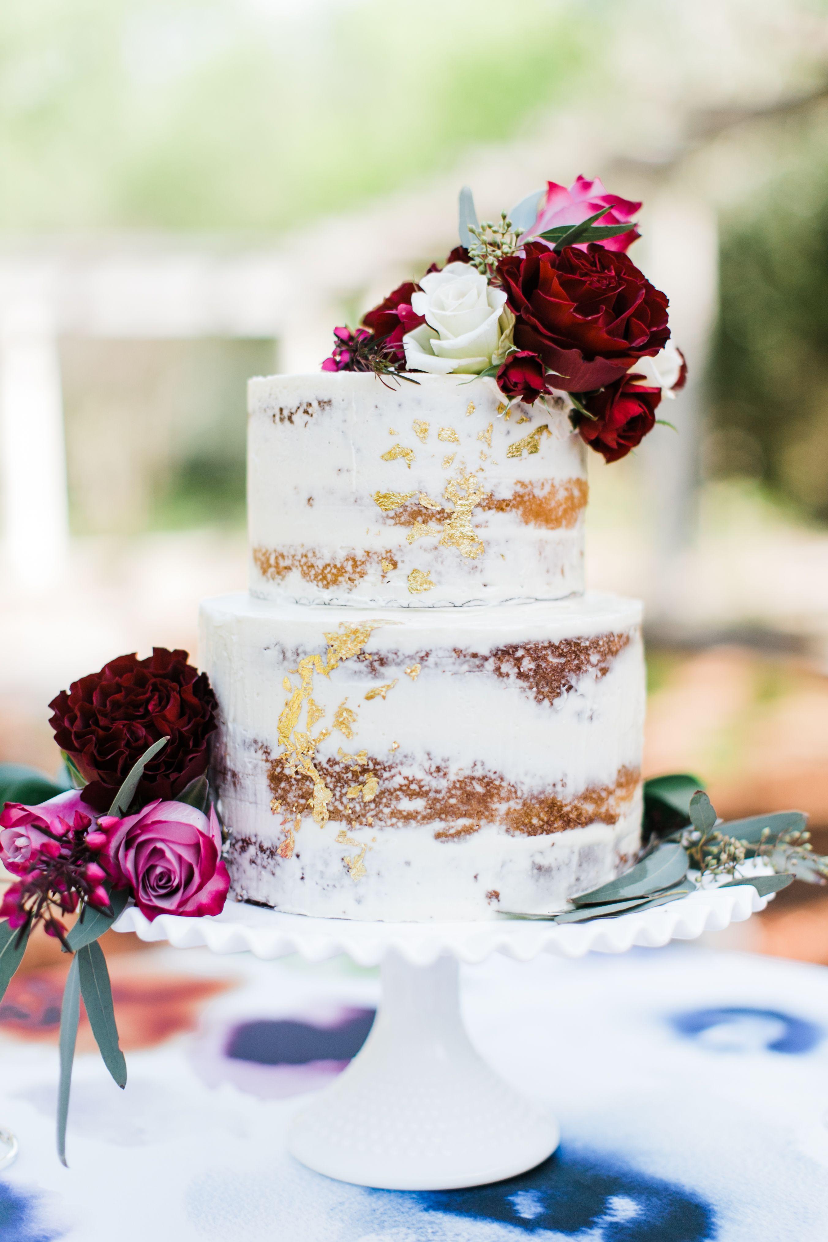 Romantic Blush and Burgundy Wedding Inspiration Burgundy