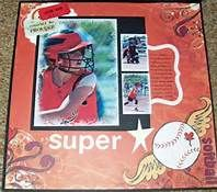 Sports Scrapbook Layouts - Bing Images