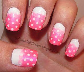 Pink Gradient Polka Dots TSM
