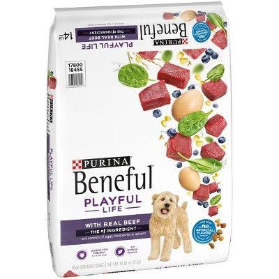 Purina Beneful Playful Life With Real Beef Egg Dry Dog Food