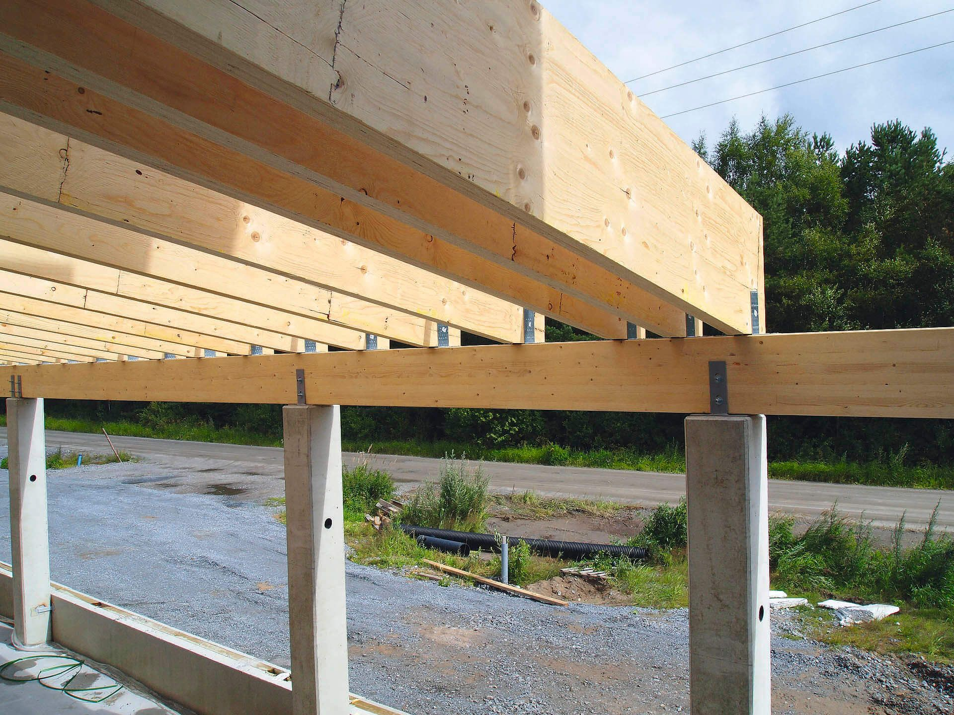 Glulam Or Lvl Which Is Stronger Timber Architecture Laminated Veneer Lumber Beams