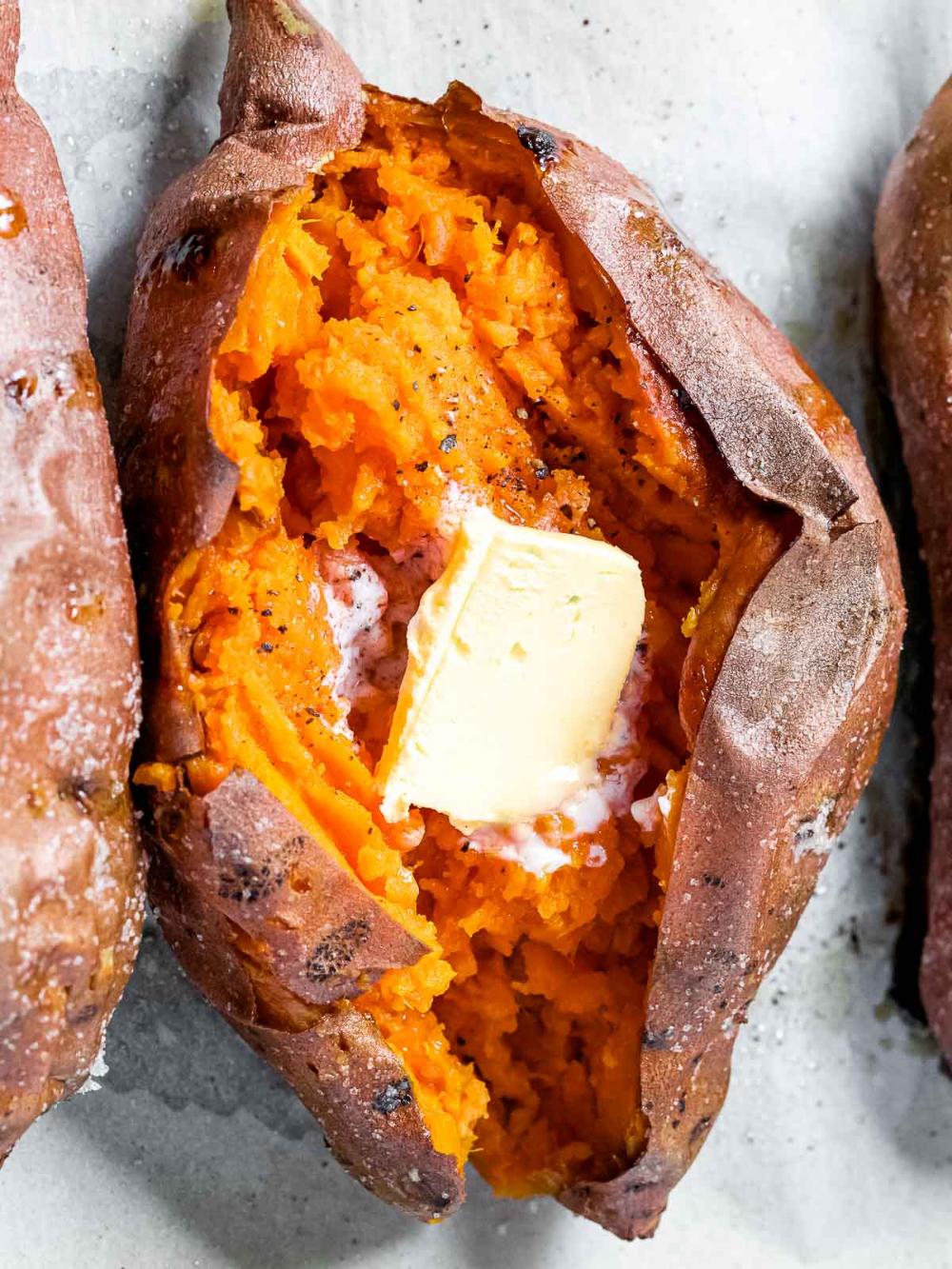 Baked Sweet Potato Recipe Healthy