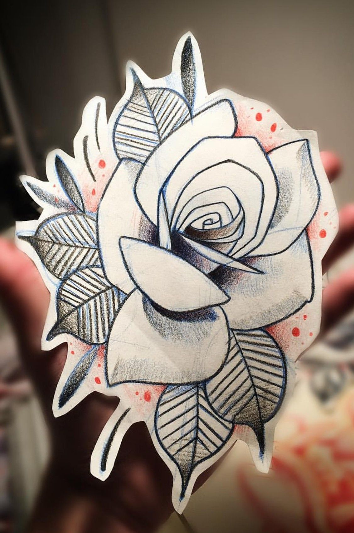 Pin By Geberson Delgar On Referencias Neotradicional Traditional Rose Tattoos Rose Drawing Tattoo Neo Traditional Roses