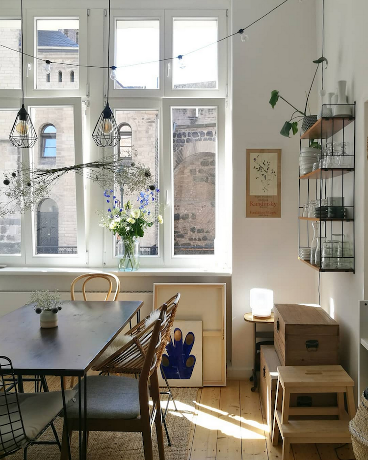 Scandinavian Home Design Looks So Charming With Eclectic: Pools Of Light In The Kitchen Of Nora's Charming Eclectic