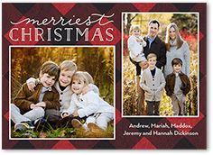 Shutterfly Christmas Cards.Flat Merry Christmas 2 Photo Christmas Cards Shutterfly