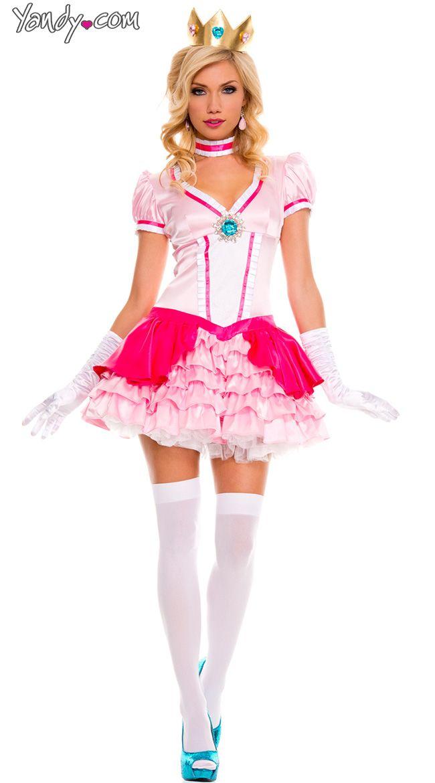 Pink Princess Costume Princess costumes, Pink princess and Costumes - princess halloween costume ideas