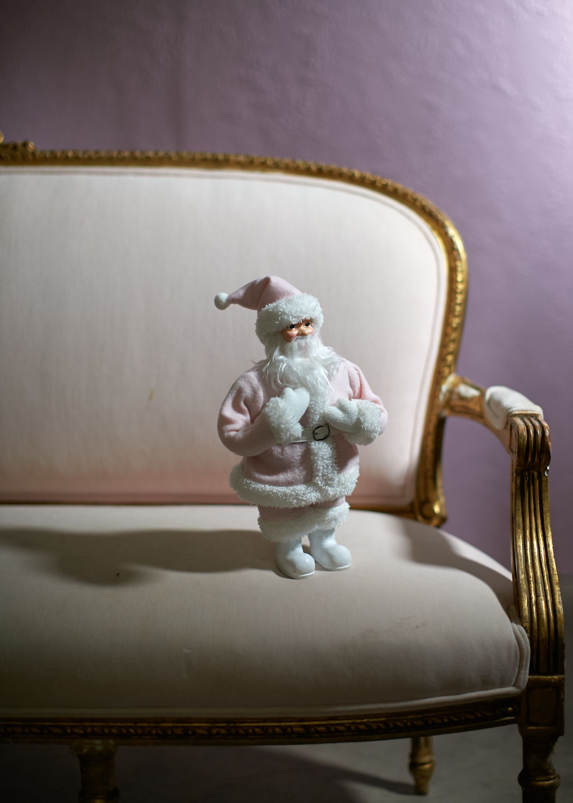 pink santa exclusively at Tar simply shabby chic