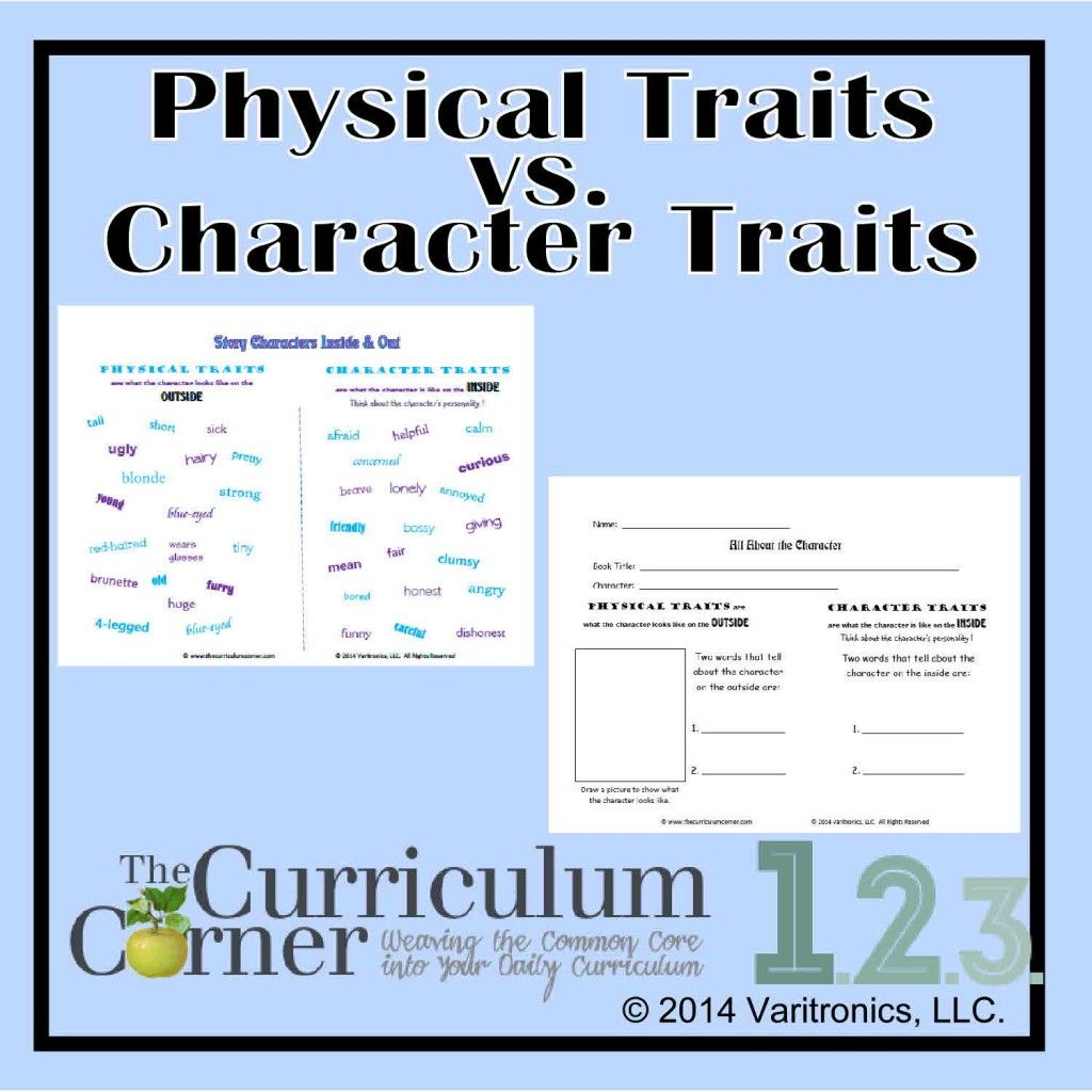 Physical Amp Character Traits