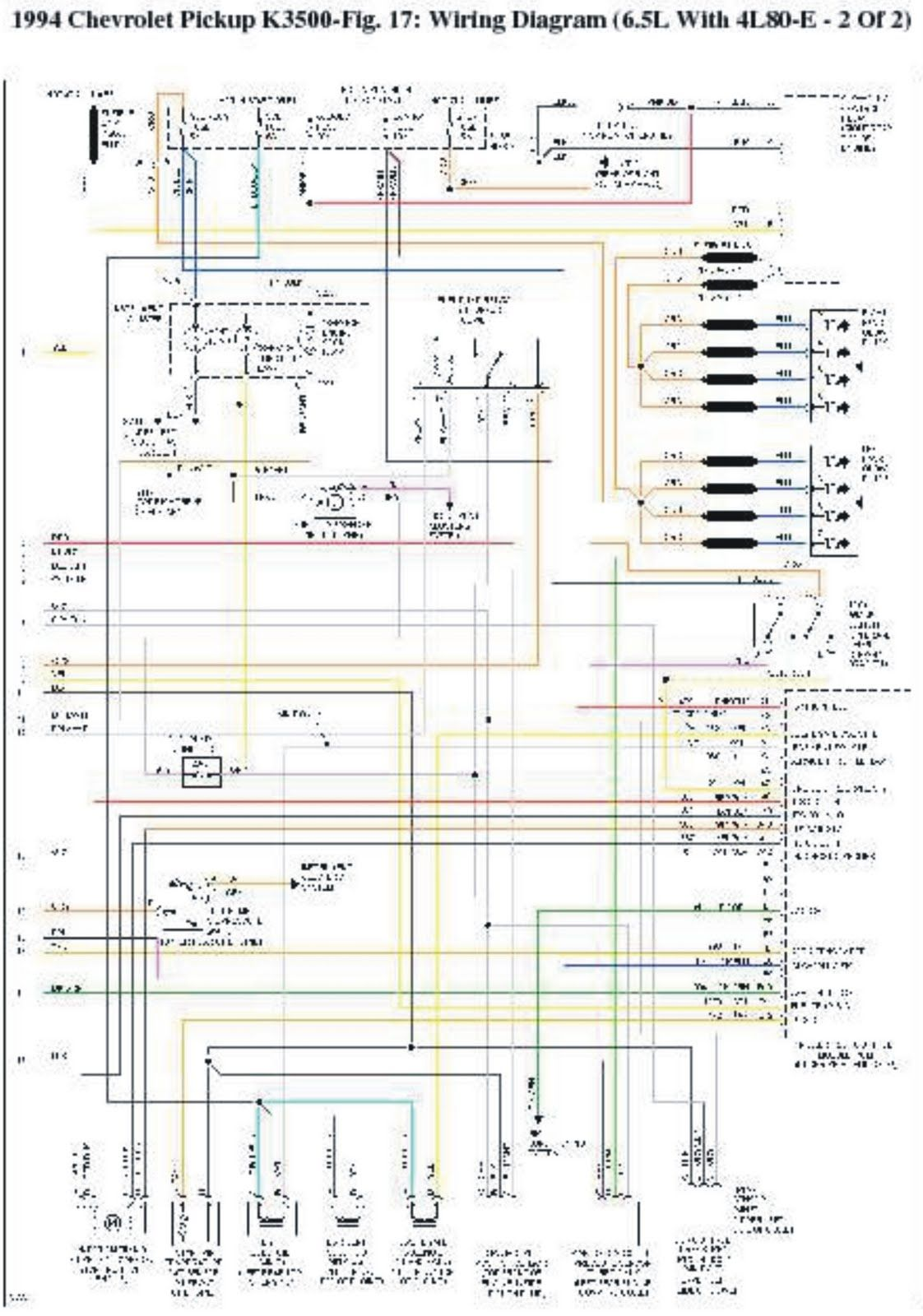 1994 chevrolet pick-up k3500 wiring diagrams | wiring | chevy 1500, 1994 chevy  1500, chevy silverado  pinterest