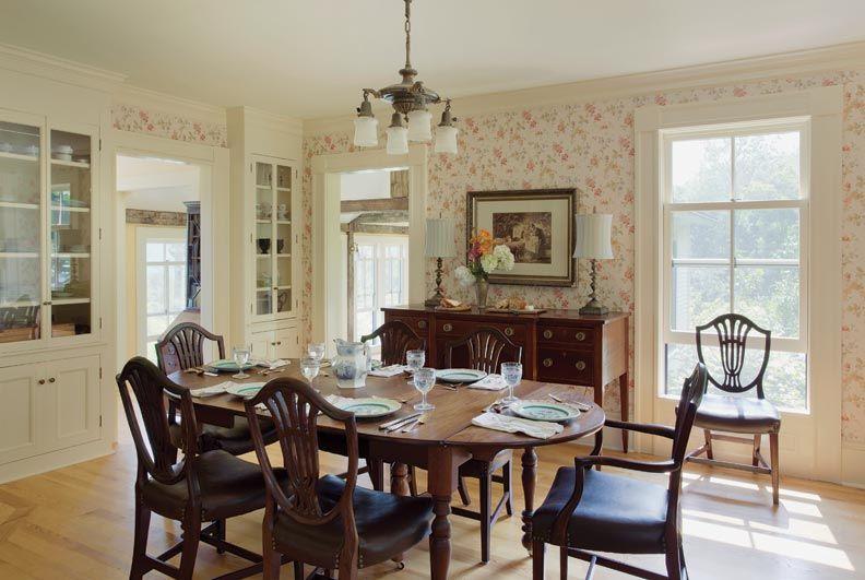 Building An Authentic New Old Farmhouse FarmhousesFarmhouse Dining RoomsThe