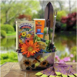 Gardening Gift Basket Ideas creating a colorful garden gift basket using crayola crayons and sidewalk chalk mothers day gift ideas Garden Gift Josaelcom
