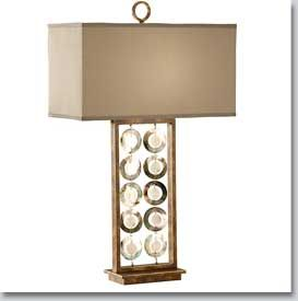 Lyric Contemporary Table Lamp - Available at GrandLight.com
