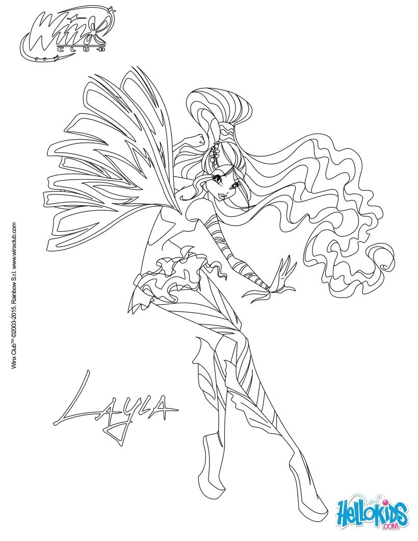 bloom transformation sirenix coloring pages