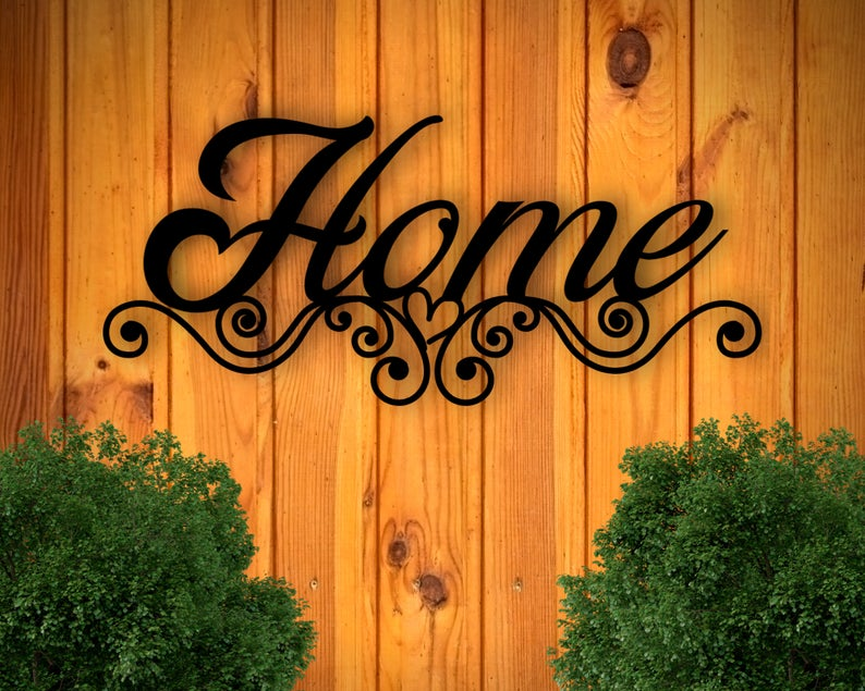 Sign for Kitchen, Sign for Home, Sign that says Home ...