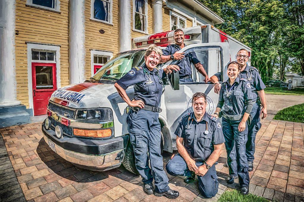 British columbia ambulance service emt paramedic ems