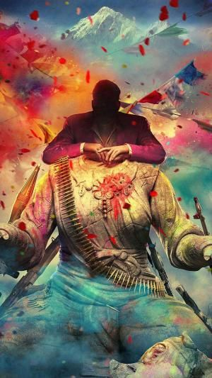 Far Cry 4 Game Mobile Wallpaper Android Iphone Trippy Iphone Wallpaper Far Cry 4 Trippy Wallpaper