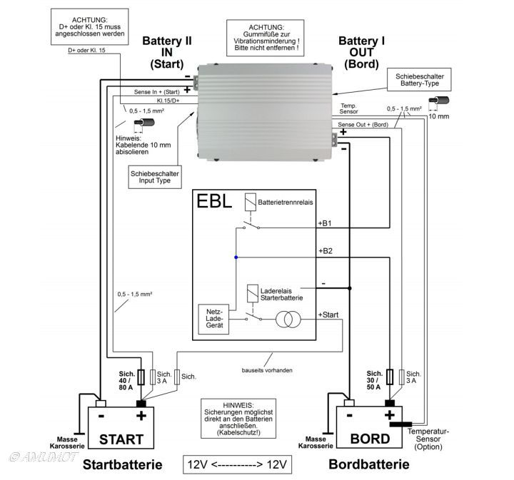 ▫ Ladebooster vs. Trennrelais im Wohnmobil | Boot Technik | Pinterest