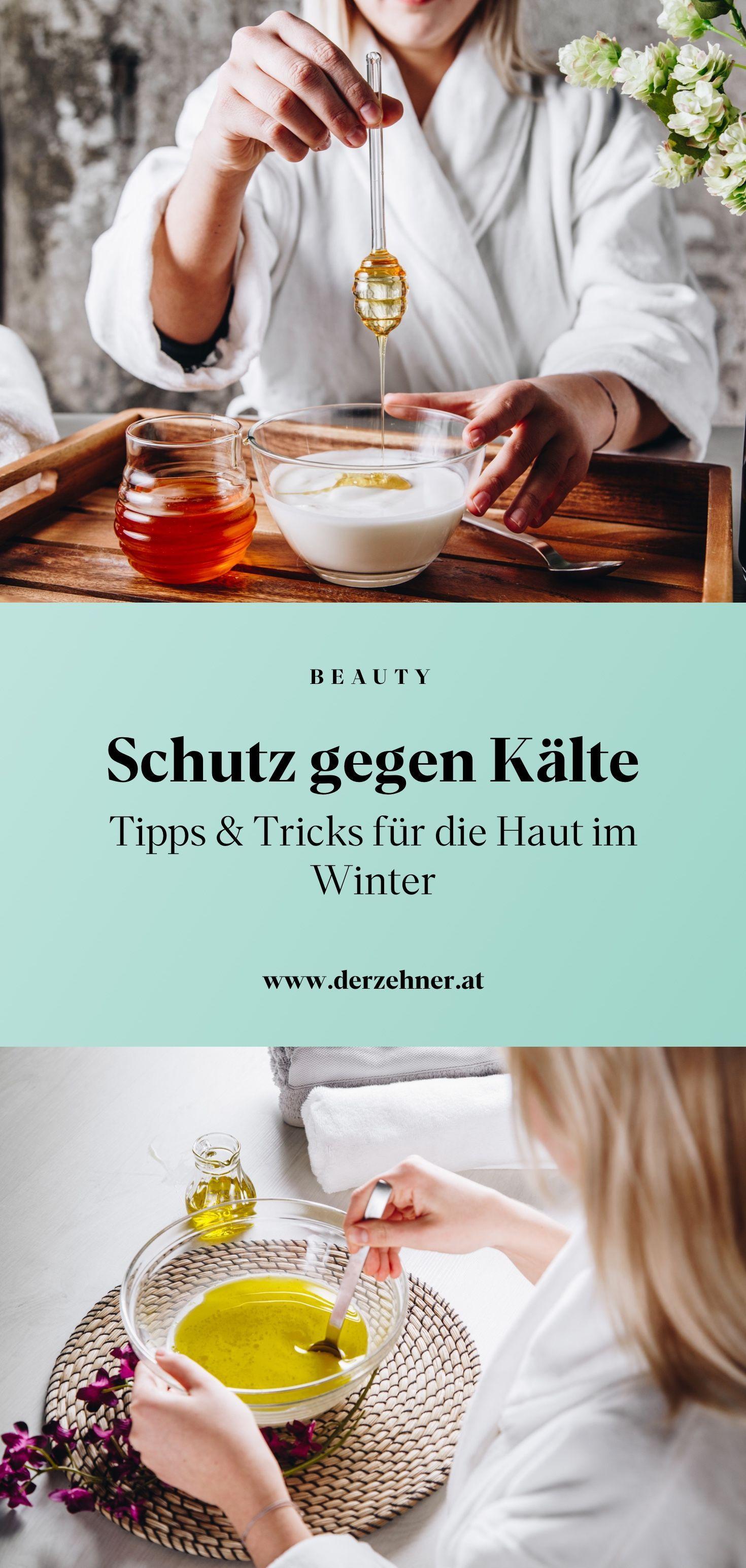 die für Haut Tipps Winter Durch den ständigen Wechsel