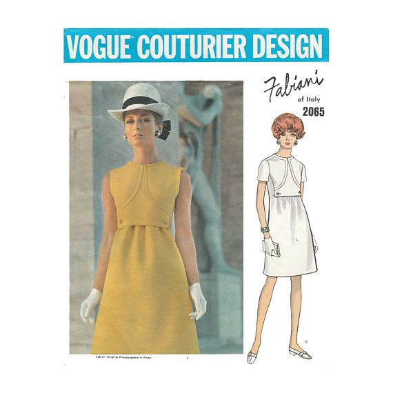 Vogue Couturier Design by Alberto Fabiani of Italy, Women\'s One ...
