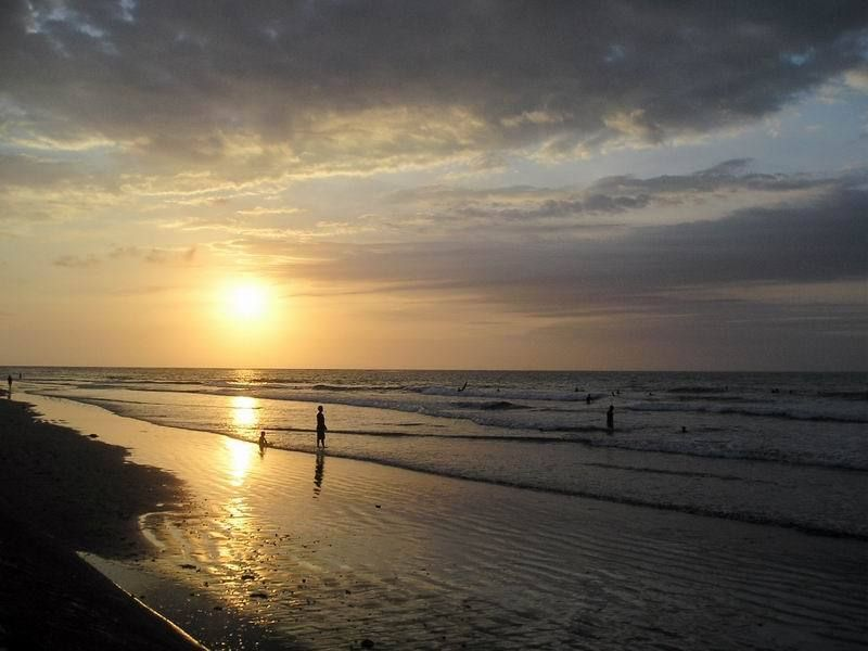Gambar Pemandangan Pantai Kuta Bali Pantai Pemandangan Bali
