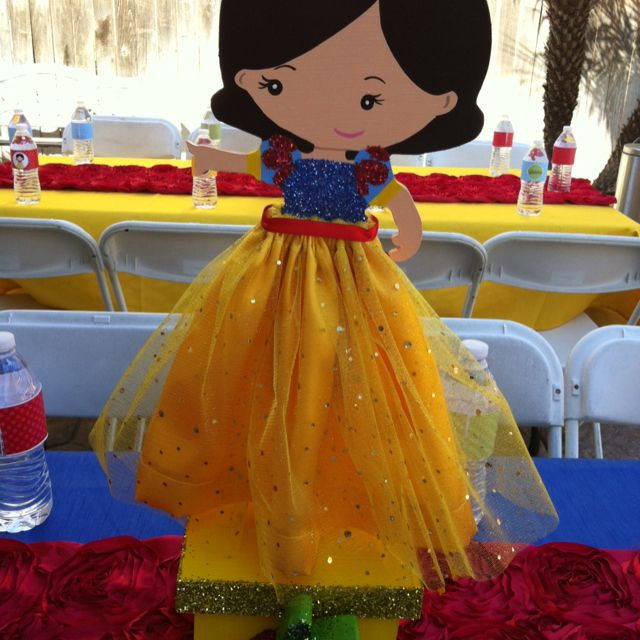 Snow White Birthday Party This Table Runners R Cute Snow White