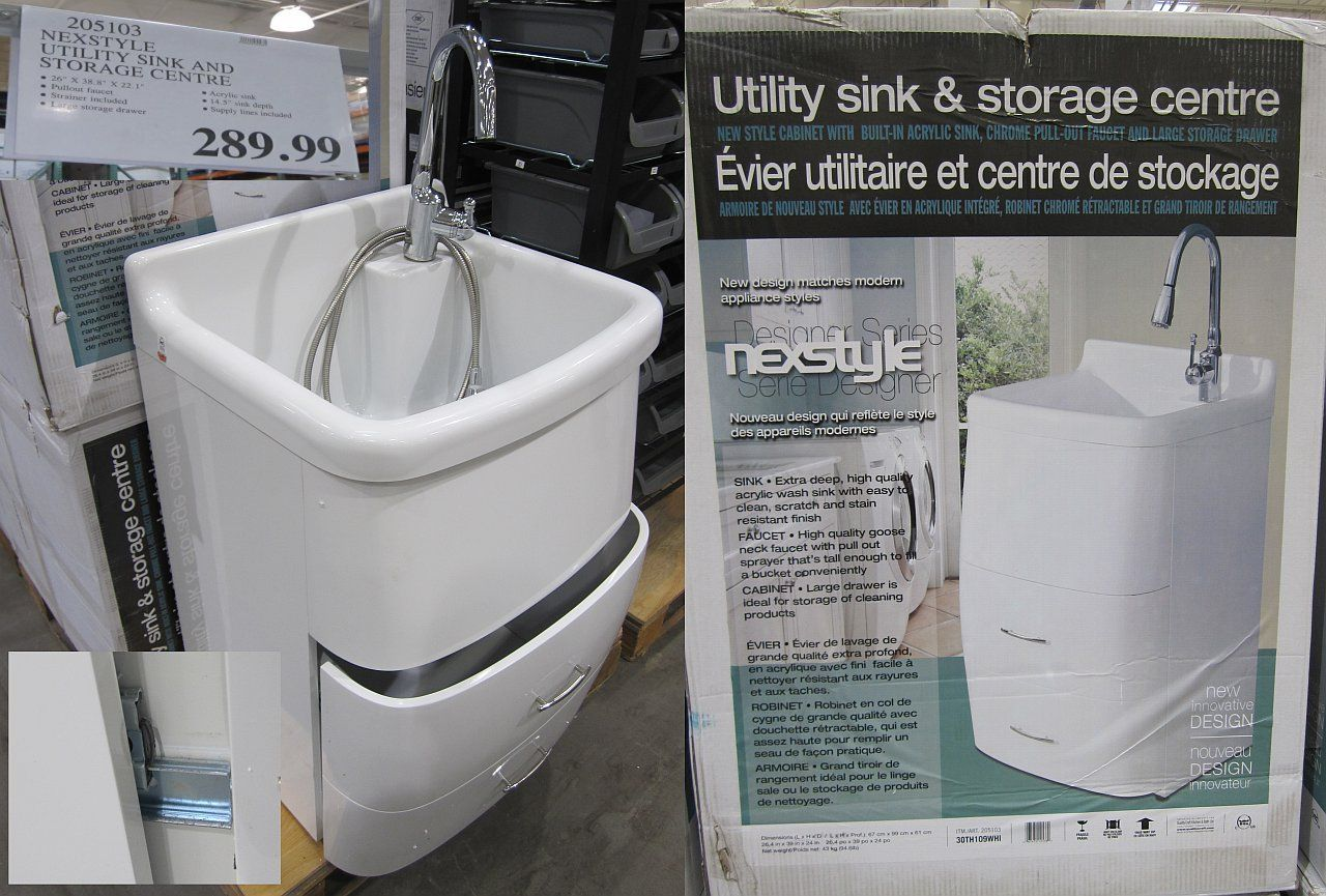 Costco Laundry Utility Sink Cabinet