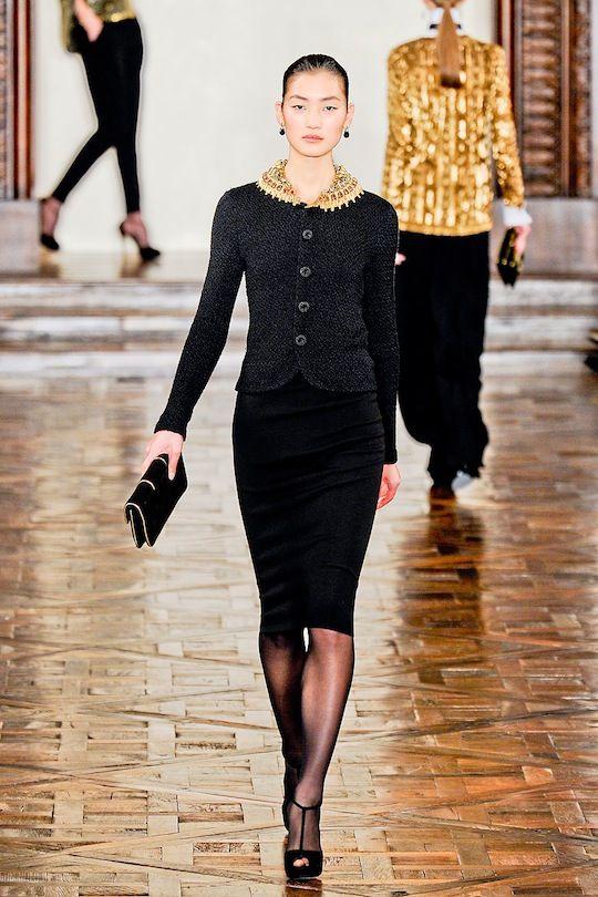 Ralph Lauren Fall 2012: Downton Abbey-fied
