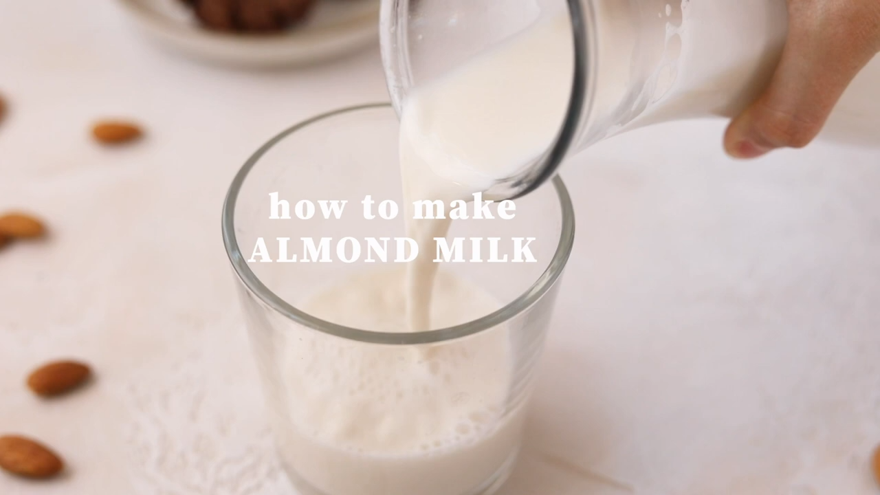 How to Make Almond Milk {keto, paleo, sugar-free, vegan!} -   17 diet Clean Eating almond milk ideas