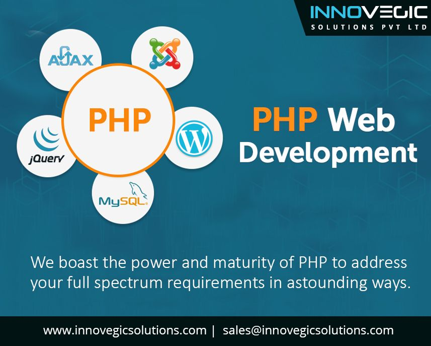 We are Innovegic Solutions Private Limited. PHP