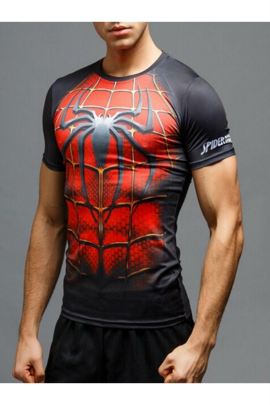 9a81c55f 3D Spiderman Short Sleeve Tee | Super Heroes & Villian's Gear ...